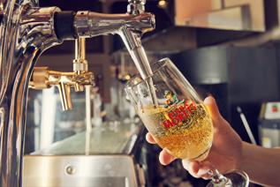 イタリアのビール「モレッティ」
