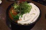北海道咖喱饂飩(カレーうどん)亀